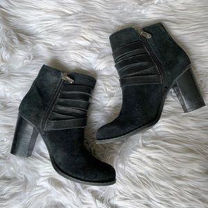 Adrienne Vittadini Shoes - Adrienne Vittadini Genuine Leather Belt Ankle Boot